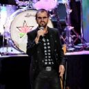 Ringo Starr performs during the Ringo Starr and his All Starr Band concert at The Greek Theatre on September 01, 2019 in Los Angeles, California - 454 x 340