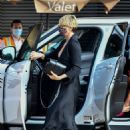 Charlize Theron – Has dinner with her children at Nobu in Malibu