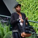 Venus Williams – Attending The Wimbledon Tennis Championships 2019 in London - 454 x 626
