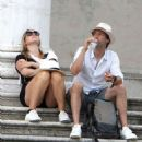 Kate Winslet and her husband Ned Rocknroll out in Venice - 454 x 509