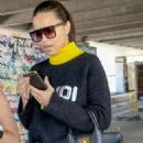 Adriana Lima – Pictured While Arrives at Nice Airport