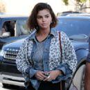 Selena Gomez at Starbucks in Los Angeles