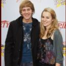 Jason Dolley and Bridgit Mendler
