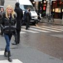 Tara Reid out & about in Paris, 26-01-11