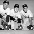Gene Woodling, Mickey Mantle & Hank Bauer - 240 x 242