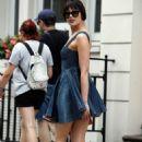 Daisy Lowe in Mini Dress – Out in London - 454 x 681