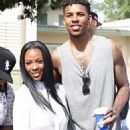 Nick Young and Keonna Green - 454 x 592