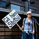 Lucy Lawless Waiho Papa Moana Hikoi Protest To Stop Deep Sea Oil Drilling In Auckland