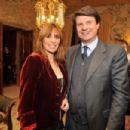 Alessandra Mussolini and Mauro Floriani