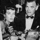 Paulette Goddard and Clark Gable