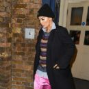Rita Ora – Leaving the Royal Drury Lane theatre in London