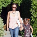 Jessica Alba treats little Honor to a salon day in West Hollywood