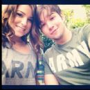Nathan Kress and Madisen Hill