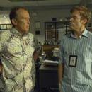 Michael C. Hall As Dexter Morgan and Peter Weller as Stan Liddy In The Fifth Season Of Dexter (2010)