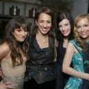 Lea Michele: attending Marie Claire's Hollywood Dinner held at Fig & Olive in West Hollywood