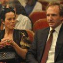 Ralph Fiennes and Amanda Harlech - 454 x 315