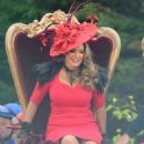 Kelly Brook – Flming a commercial for the new Ladbrokes advertisement in Liverpool