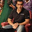 Salman Khan On The Sets Of Sa Re Ga Ma Pa Lil Champs
