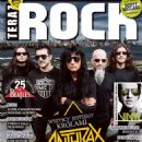 Anthrax - Teraz Rock Magazine Cover [Poland] (March 2016)