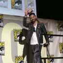Actor Dominic Cooper attends AMC's 'Preacher' panel during Comic-Con International 2016 at San Diego Convention Center on July 22, 2016 in San Diego, California - 437 x 600