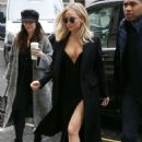 Jennifer Lawrence out and about in London