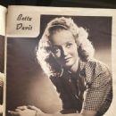 Bette Davis - Screen Album Magazine Pictorial [United States] (March 1940) - 454 x 679