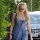 Sophie Turner – Arriving to The in Style Gifting Suite in Brentwood