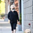 Deborra-Lee Furness – Out for a dog walk in New York - 454 x 599