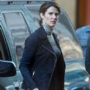 Cobie Smulders – On the set of their upcoming Marvel hit in Atlanta