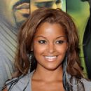 Claudia Jordan - Screen Gems' 'Takers' Premiere At Arclight Cinema Cinerama Dome On August 4, 2010 In Hollywood, California - 454 x 570