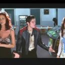 Shannon Elizabeth, Jon Abrahams and Anna Faris in Dimension's horror comedy movie Scary Movie - 2000
