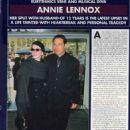 Annie Lennox and Uri Fruchtmann