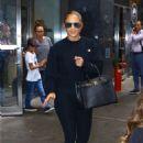 Jennifer Lopez – Leaving a recording studio in New York City