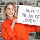 Emilia Clarke – Omaze February 2019 - 454 x 255