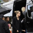 Heidi Klum and family go to Cecconis for breakfast