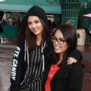 Victoria Justice At Disneyland In Anaheim
