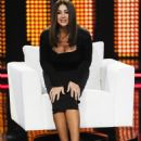 Monica Bellucci-'chiambretti Night' TV Show In Milan-October 26, 2010