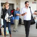 Kate Upton and Justin Verlander – Catch a flight to Houston - 454 x 441