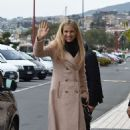 Michelle Hunziker – Spotted at her Hotel in Sanremo - 454 x 700
