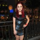Ariana Grande speak at Hollywood & Highland Center and One Heartland's