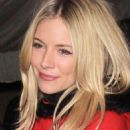 Sienna Miller Gets in the Holiday Spirit