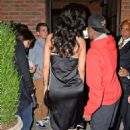 Rihanna Leaves Birthday Party At The Bowery Hotel In New York