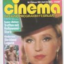 Hanna Schygulla - Cinema Magazine Cover [West Germany] (February 1981)