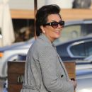Kris Jenner was seen arriving at Nobu restaurant March 16, 2017.  (March 16, 2017 - 454 x 600