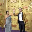 Nikolaj Coster-Waldau and his wife Nukaaka At The 71st Primetime Emmy Awards - Arrivals - 427 x 600