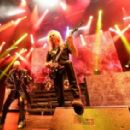 Judas Priest perform at The Pearl Concert Theater at the Palms Casino Resort on November 14, 2014 in Las Vegas, Nevada - 454 x 282
