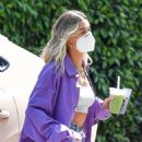 Hailey Bieber – Seen at the Hollywood Roosevelt in Los Angeles