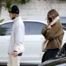 Hailey and Justin Bieber – Checking out a property in West Hollywood