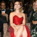 Scarlett Johansson – In red dress at 'Marriage Story' Screening at 2019 Venice Film Festival (adds)