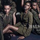 Jourdan Dunn & Cara Delevingne for Balmain Fall 2014